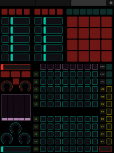 iPad touchOSC template for Modul8 sequencer and Layers